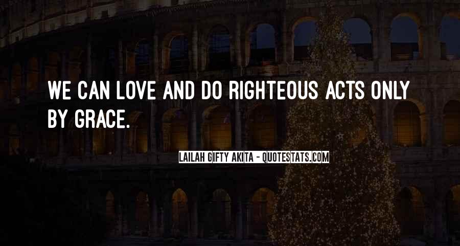 Righteousness Christian Quotes #949354