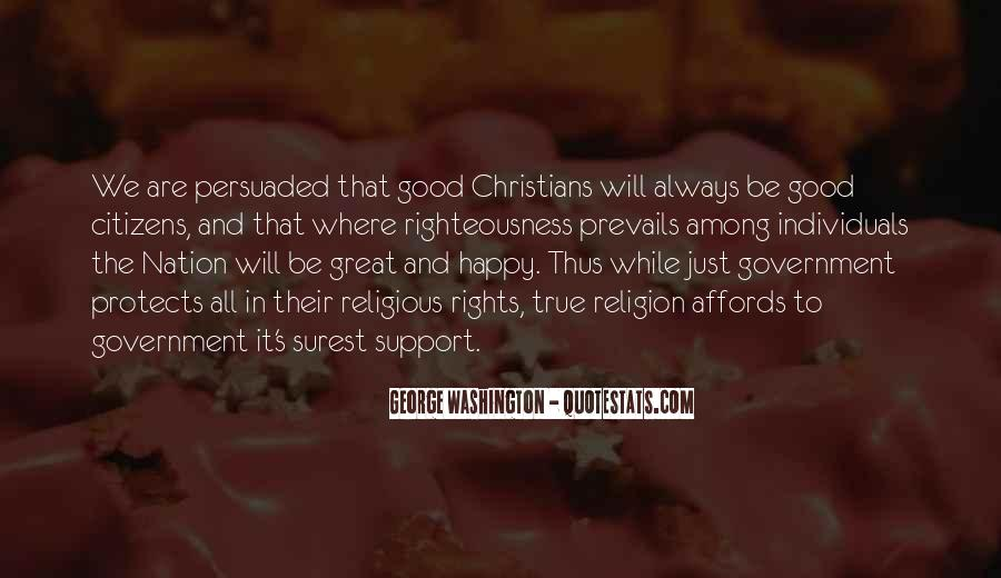 Righteousness Christian Quotes #964630