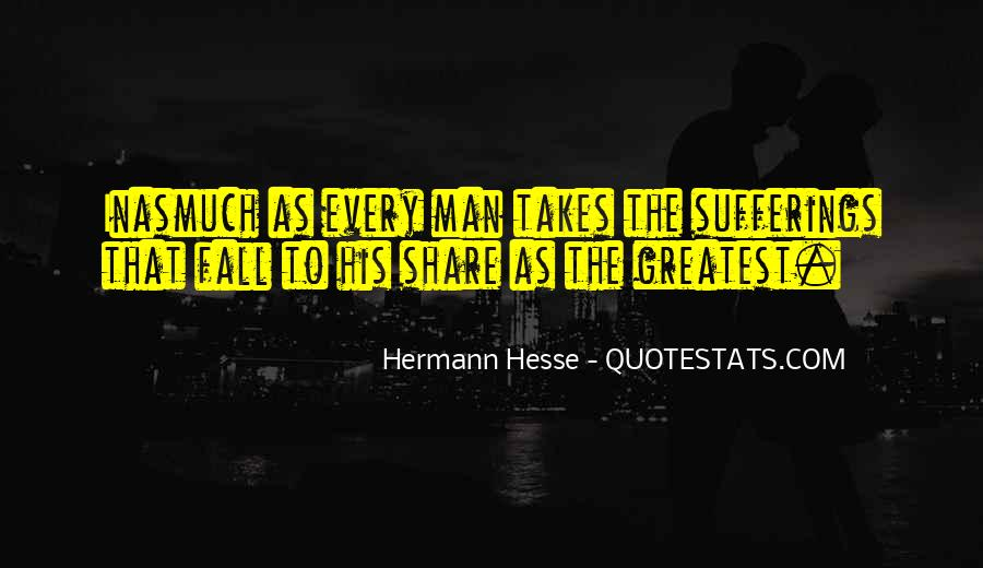 Quotes About Hermann Hesse #123064