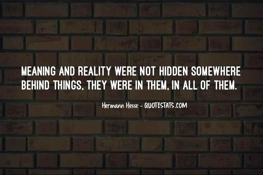 Quotes About Hermann Hesse #141489