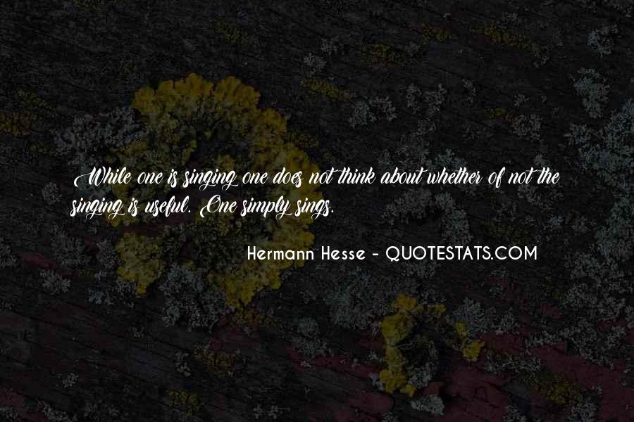 Quotes About Hermann Hesse #226739