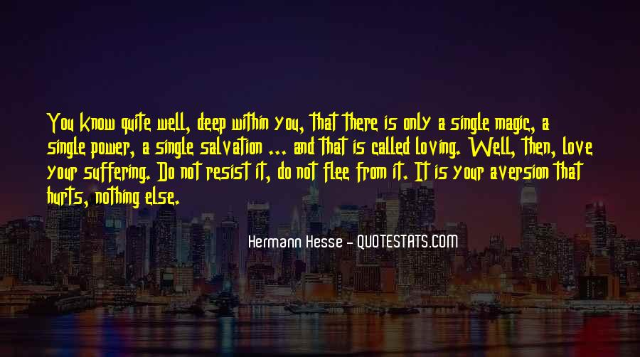 Quotes About Hermann Hesse #227336