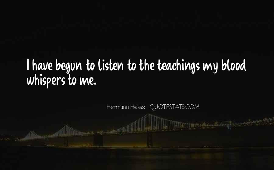 Quotes About Hermann Hesse #268835