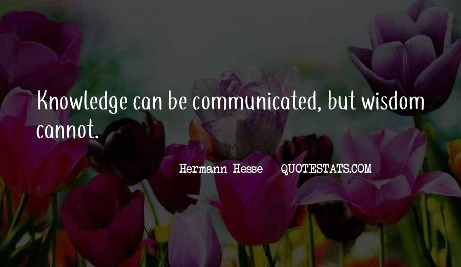 Quotes About Hermann Hesse #283651