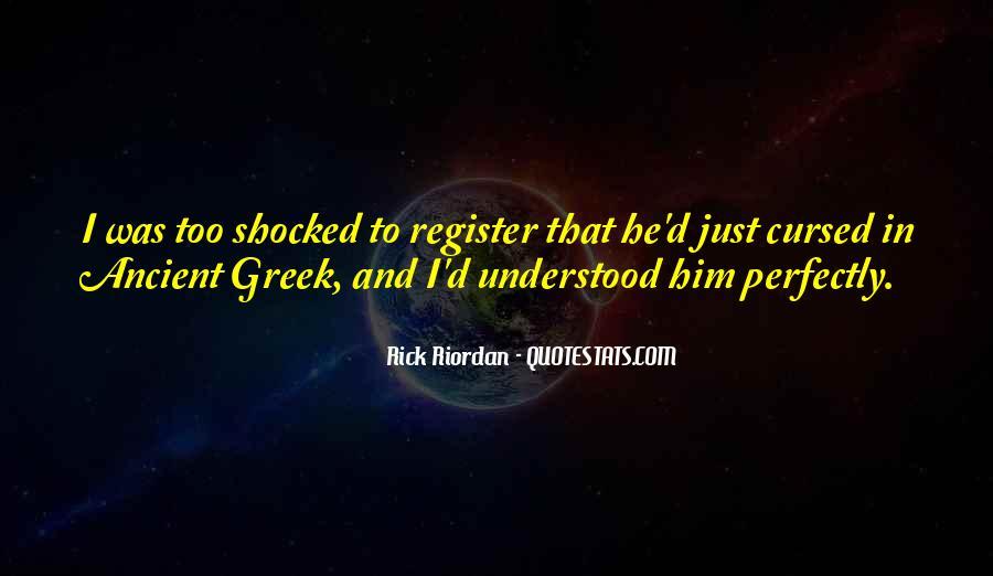 Riordan Quotes #37183