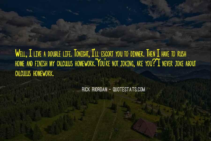 Riordan Quotes #50245