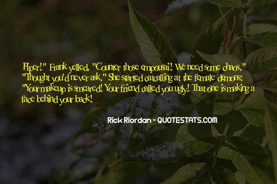 Riordan Quotes #50847