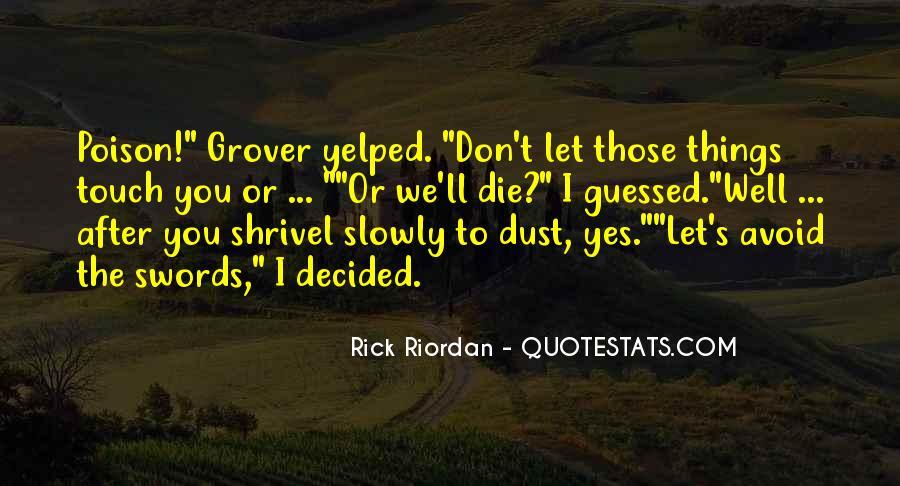 Riordan Quotes #53689