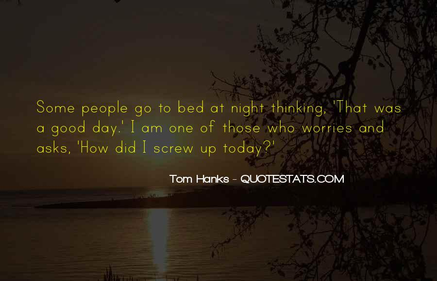 Quotes About Tom Hanks #102941