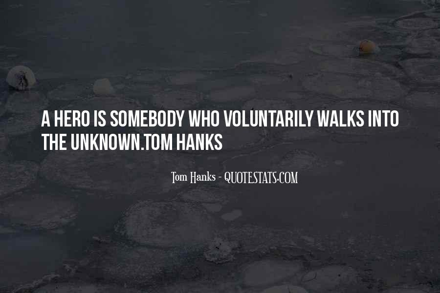 Quotes About Tom Hanks #34104