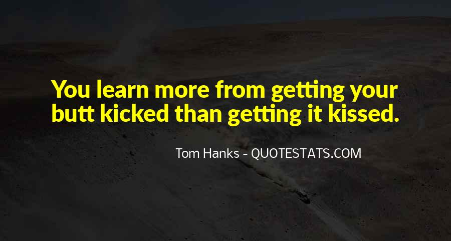 Quotes About Tom Hanks #431361