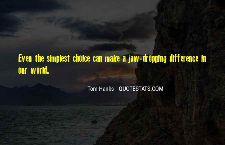 Quotes About Tom Hanks #487053