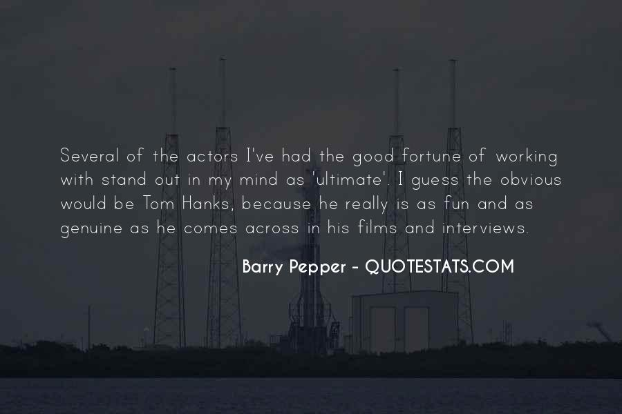 Quotes About Tom Hanks #608378