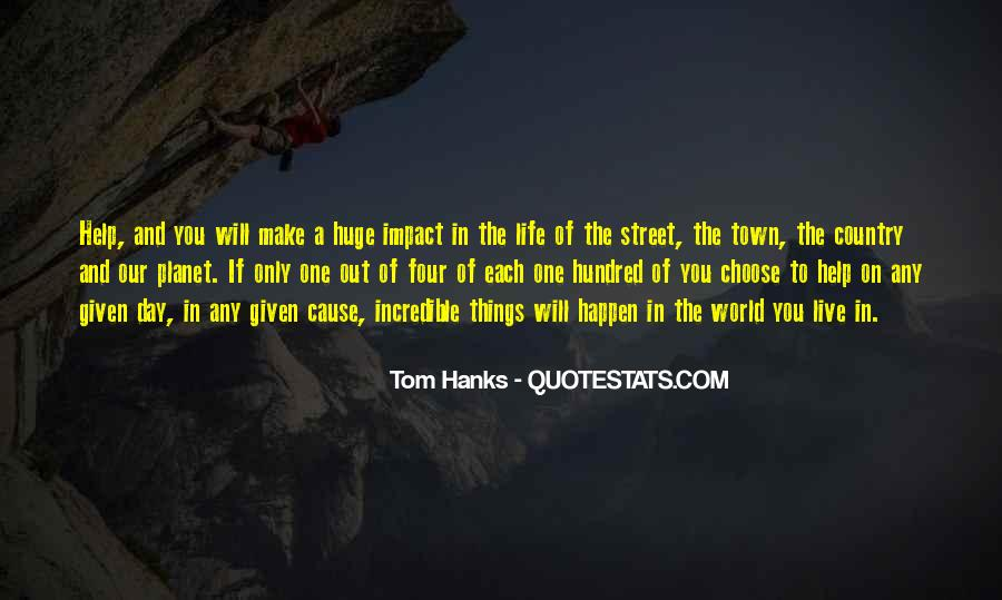 Quotes About Tom Hanks #663177