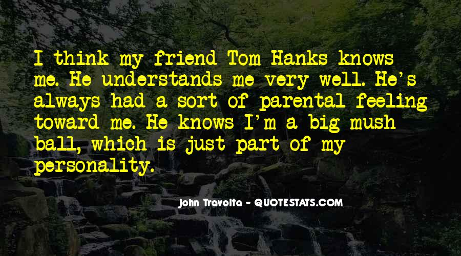 Quotes About Tom Hanks #725315