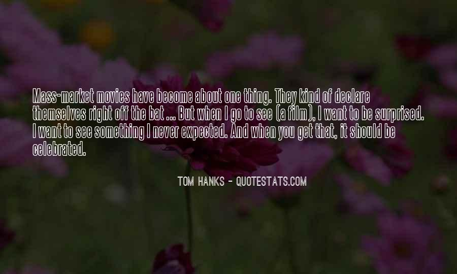 Quotes About Tom Hanks #797646