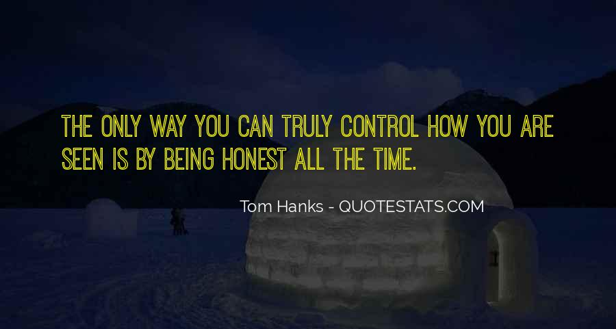 Quotes About Tom Hanks #803981