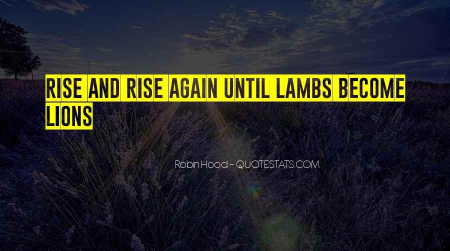 Rise Again Quotes #23084