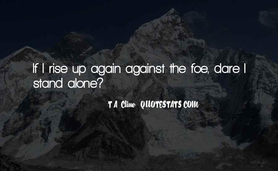 Rise Again Quotes #375899