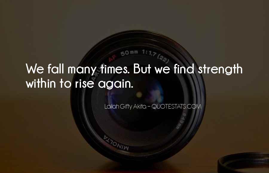 Rise Again Quotes #837451