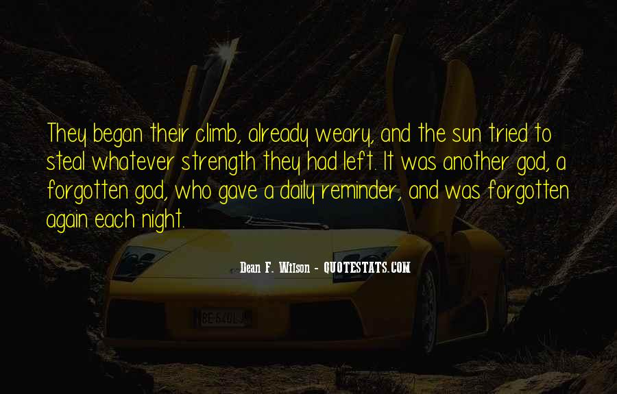Quotes About Sunset And God #826555