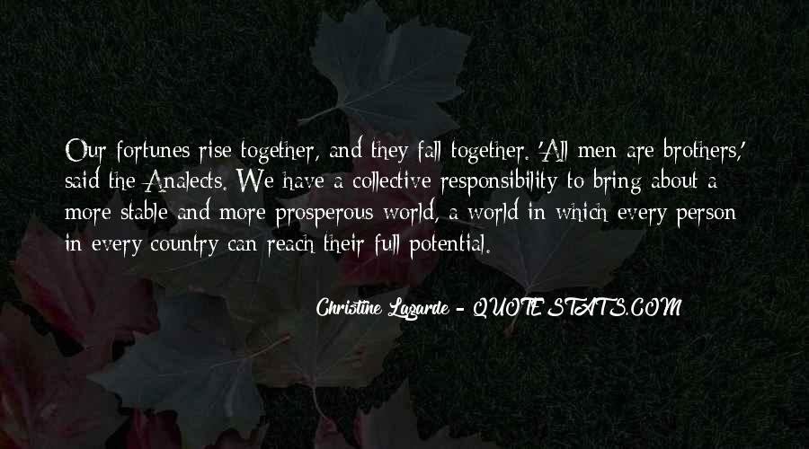 Rise Up Together Quotes #1001853