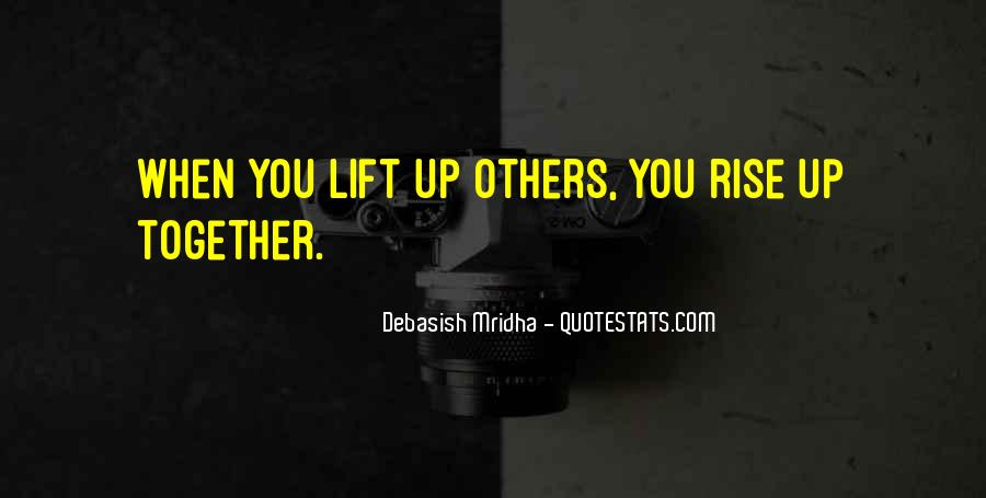 Rise Up Together Quotes #298856