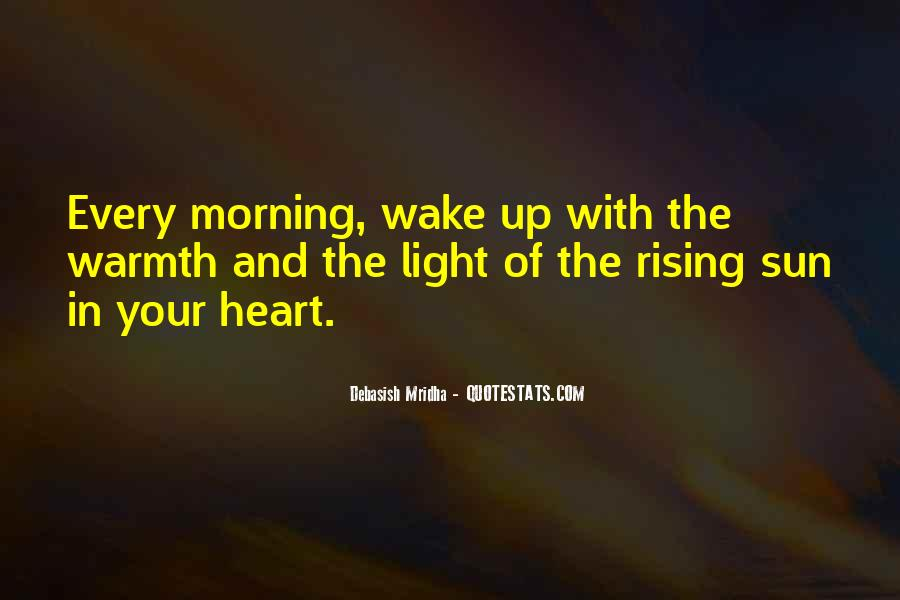 Rising Sun Inspirational Quotes #1031058