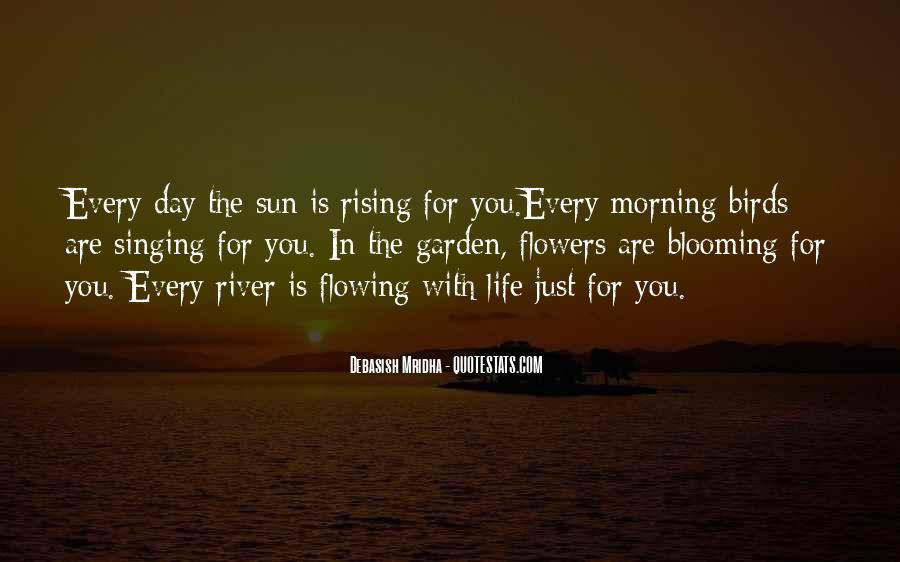 Rising Sun Inspirational Quotes #169277
