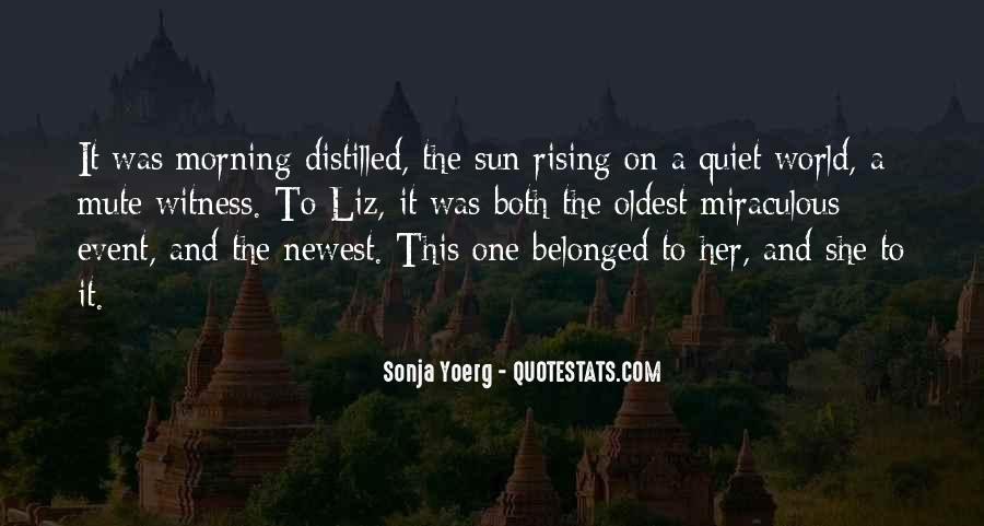 Rising Sun Inspirational Quotes #527165