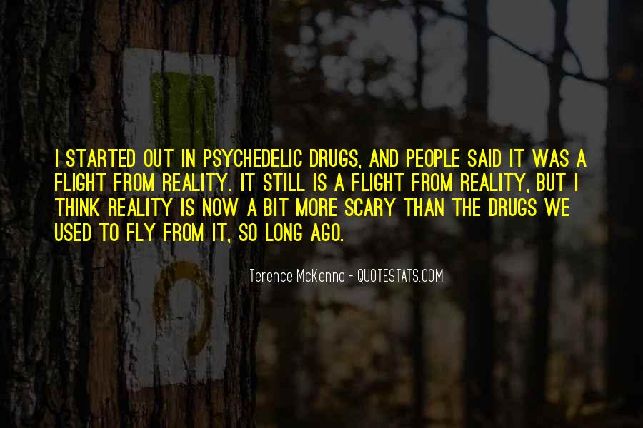 Quotes About Terence Mckenna #102470