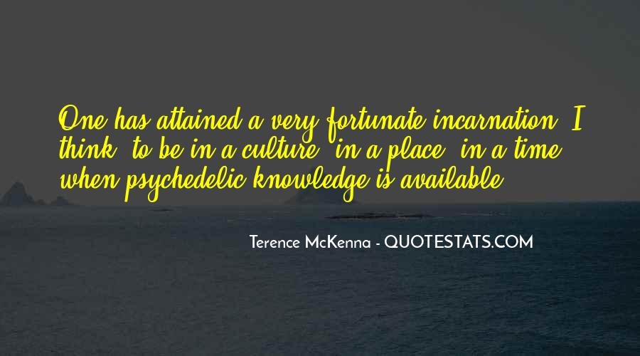 Quotes About Terence Mckenna #106804