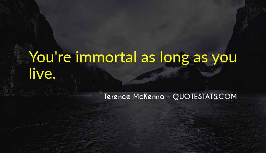 Quotes About Terence Mckenna #10702