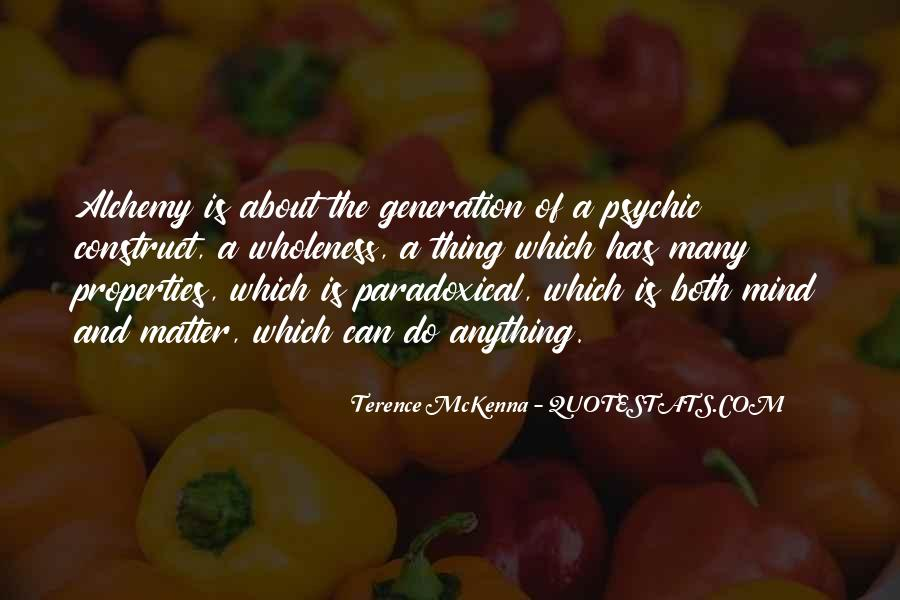 Quotes About Terence Mckenna #113793