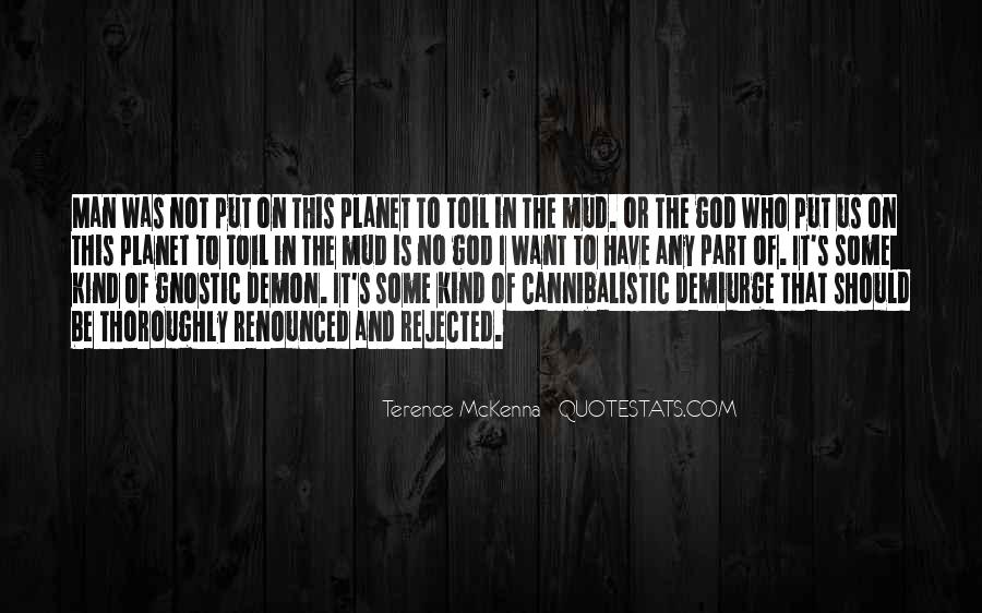 Quotes About Terence Mckenna #115369