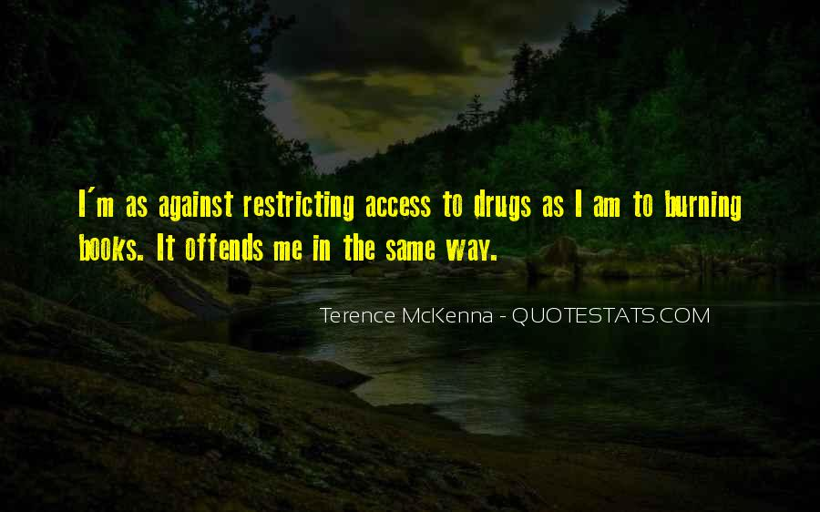 Quotes About Terence Mckenna #116006
