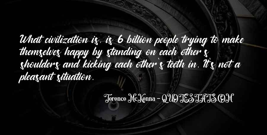Quotes About Terence Mckenna #117091