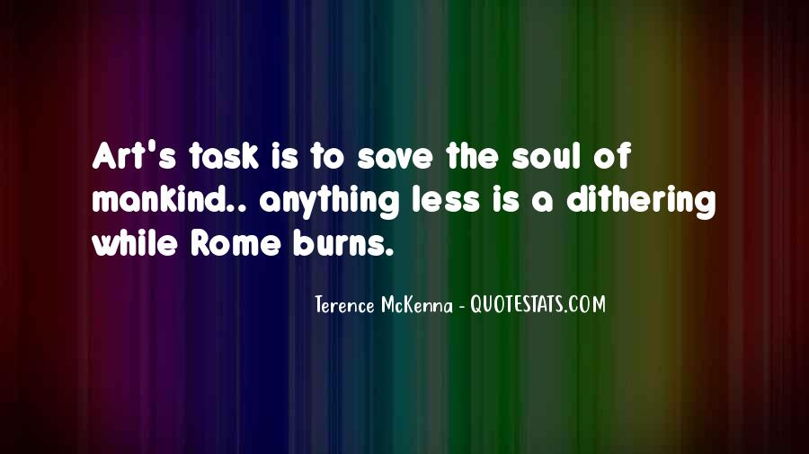 Quotes About Terence Mckenna #143677