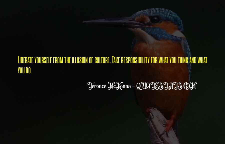 Quotes About Terence Mckenna #150514