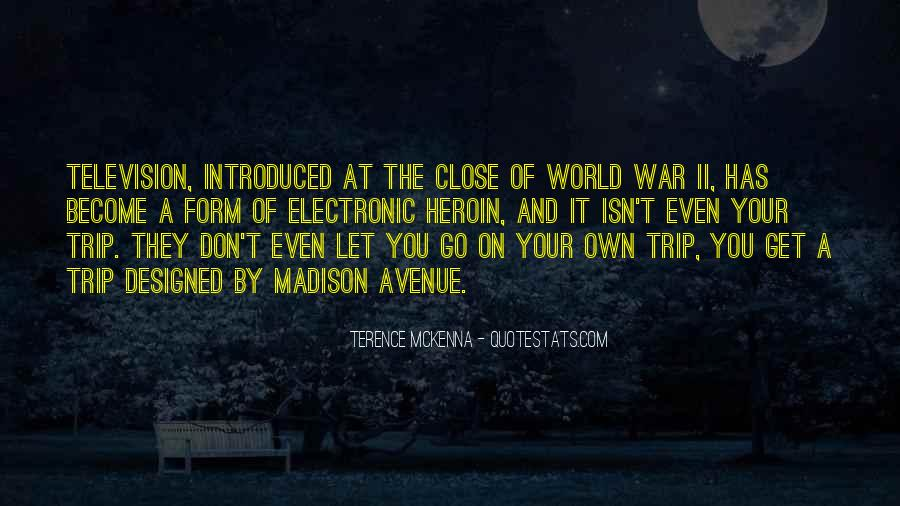 Quotes About Terence Mckenna #159826
