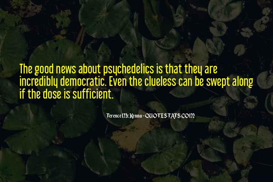 Quotes About Terence Mckenna #173546