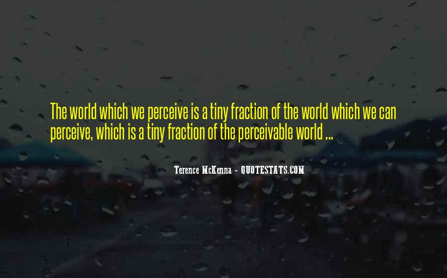 Quotes About Terence Mckenna #189610