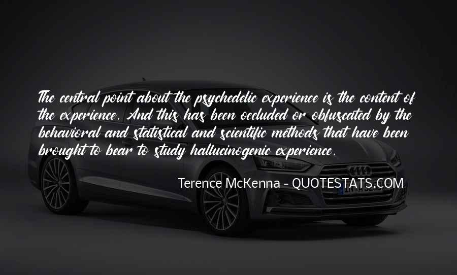 Quotes About Terence Mckenna #194489