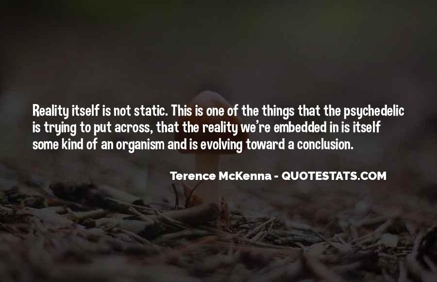 Quotes About Terence Mckenna #23449