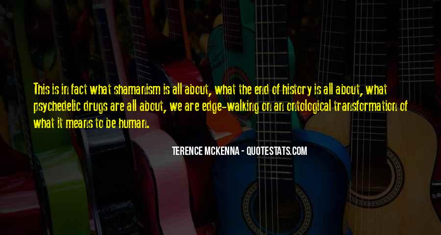 Quotes About Terence Mckenna #245442