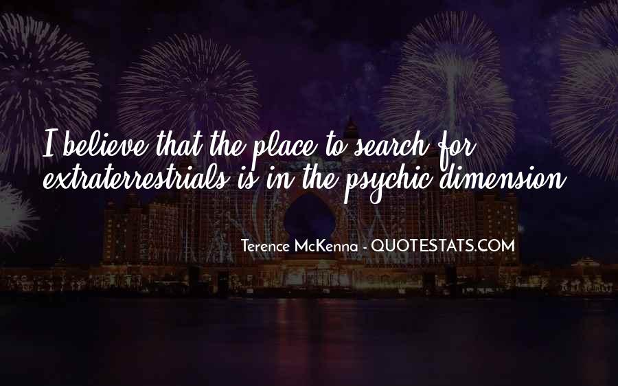 Quotes About Terence Mckenna #264949
