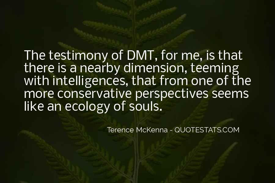 Quotes About Terence Mckenna #37503