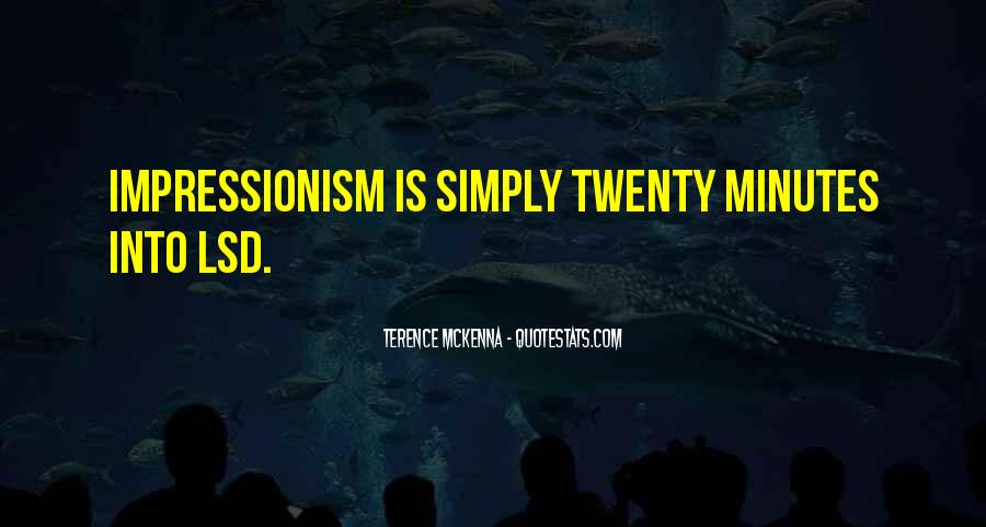 Quotes About Terence Mckenna #52600
