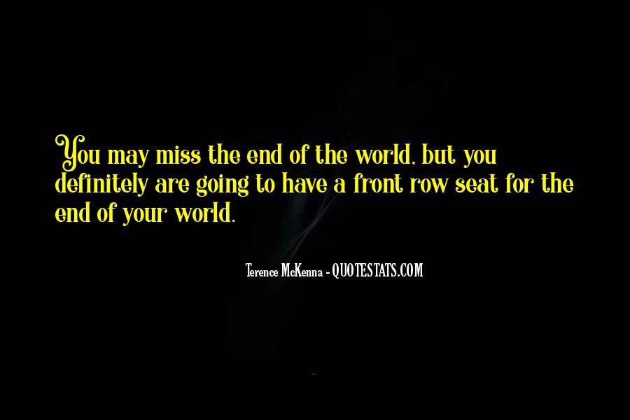 Quotes About Terence Mckenna #5854