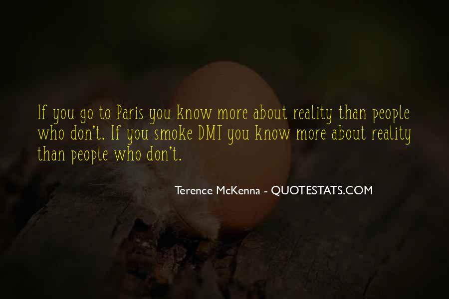 Quotes About Terence Mckenna #63404